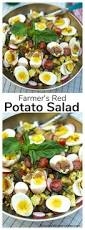 end of summer tour and farmer u0027s red potato salad recipe