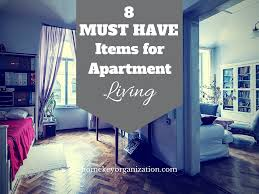 eight must have items for apartment living home key organization