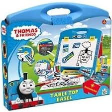 thomas the tank engine table top thomas and friends thc010 table top easel drawing accessories