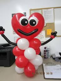 Valentines Day Balloon Decor by Best 25 Valentines Balloons Ideas On Pinterest Valentines Day