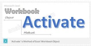 activate workbook method vba explained with examples