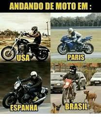 Moto Memes - andando de moto em paris brasil espanha meme on me me