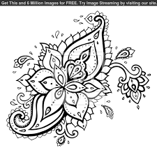 printable paisley stencils royalty free vector of paisley