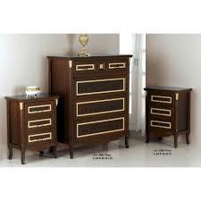 ã e comodini arte povera set como e comodini in legno noce e oro anche in versione avorio o