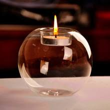 bougeoir mariage portable vente classique cristal verre bougeoir mariage bar