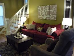 unique living room paint colors with red couch m43 about small