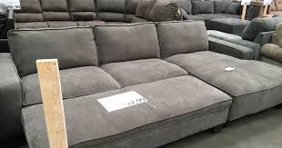 Costco Sofa Sectional by Chaise Sectional Sofa With Storage Ottoman Costco Weekender