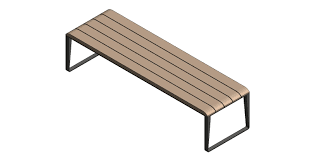 Habitat Radius Bench Bench Site Bench Bim Objects Families Site Benchmarks Scotland