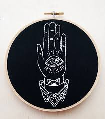 Occult Home Decor Occult Decor 검색 Embroidery Pinterest Embroidery