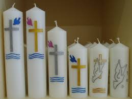 baptismal candles baptism candles southern cross church supplies