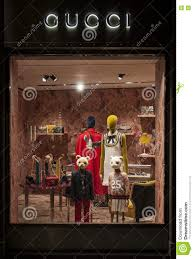 Gucci Clothes For Toddlers Gucci Kids Window Store Editorial Photography Image 75821712