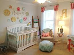 baby bedroom ideas for twins hanging lamp above dark floor polka