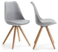 chaises design salle manger wonderful chaise de salle a manger grise 1 lot de 2 chaises