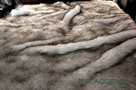 Faux Fur Blankets And Throws Plush Faux Fur Bedspread Comforter Coverlet Frosted Mink