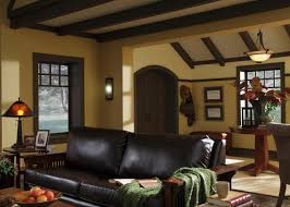 Craftsman Style House Interior by Craftsman Style Home Living Room Decorating Ideas Carameloffers