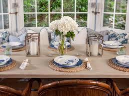 Dining Room Flower Arrangements Coastal Dining Room Sets Centerpieces Decoration Ideas Decorating