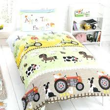 Tractor Crib Bedding Themed Bedroom For Toddler Trafficsafety Club
