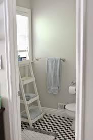 bathroom ladder shelves bathroom ideas leaning ladder towel rack