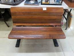 121 a old bench for sale booth 018 wi flea market