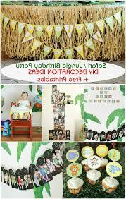 safari decorations safari jungle themed birthday party part iii diy