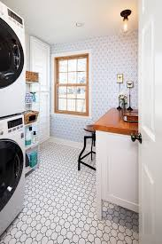 Space Saving Laundry Ideas White by Laundry Room Tile Ideas Laundry Room Traditional With Green