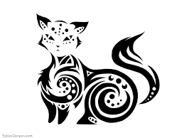 tribal cat design 330 photo gallery tattoos gallery