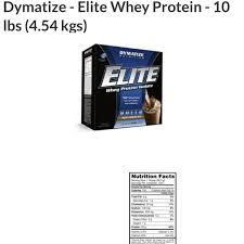 Dymatize Elite Whey 10 Lbs cheapestsups s items for sale on carousell