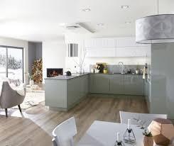 cuisine pastel une cuisine vert pastel et blanche qui design et formes
