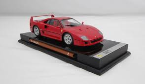 how many f40 are left f40 scale model cars