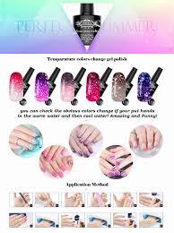 amazon com soak off uv led gel nail polish mood changing