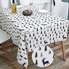 thanksgiving table cover wimaha 52x70in christmas decoration rectangle tablecloth
