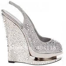 silver wedding shoes wedges buy summer brand high heels shoes wedding rhinestone pumps