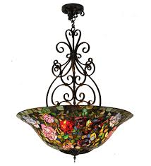 stained glass ceiling light fixtures creative stained glass light fixture design that will make you