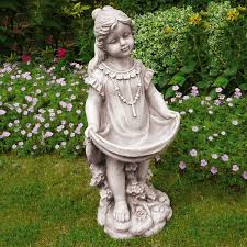 garden statues water fountains ideas
