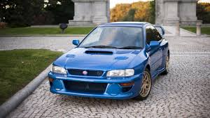 subaru hatchback 1990 a holy grail subaru impreza 22b sti is up for sale