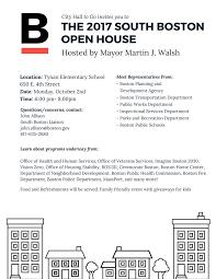 south boston open house boston planning development agency description