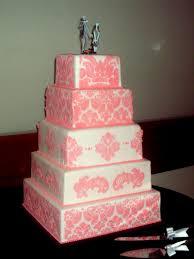 wedding cakes utah pink and white stencil wedding cake a of cake utah