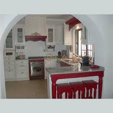 mange debout cuisine cuisine complète rustique comptoir granit mange debout valencia