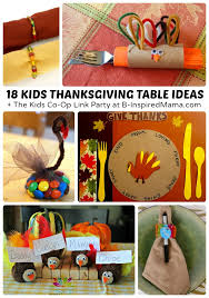 Easy Thanksgiving Crafts For Kids To Make Creative Kids Thanksgiving Table Ideas B Inspired Mama