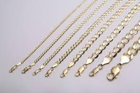 mens link necklace gold images Mens solid 10k gold necklace ebay jpg