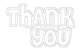 coloring thank you cards free printable a and a glue gun