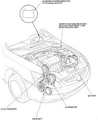 04 honda accord power steering i a 2004 honda accord 4 cylinder my drive belt is broken
