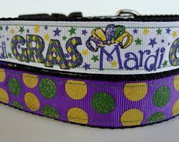 dog collar mardi gras chevron dog jester collar etsy