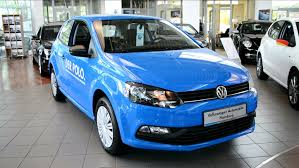 blue volkswagen 2014 new vw volkswagen polo 1 0 tsi facelift exterior and