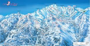 Keystone Resort Map Brides Les Bains Piste Maps And Ski Resort Map Powderbeds