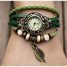 leather wrap bracelet watches images Pack of 3 leather bracelet watches in pakistan getnow pk jpg