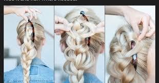 hair style wirh banana clip braided banana clip hairstyle pinterest tutorials