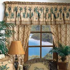 palm tree curtains ebay
