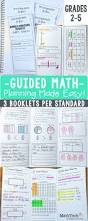 3rd grade guided math all standards tri fold common cores and