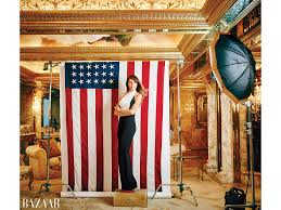 Donald Trump Home by Melania Trump Defends Husband Donald In Glamorous New Shoot